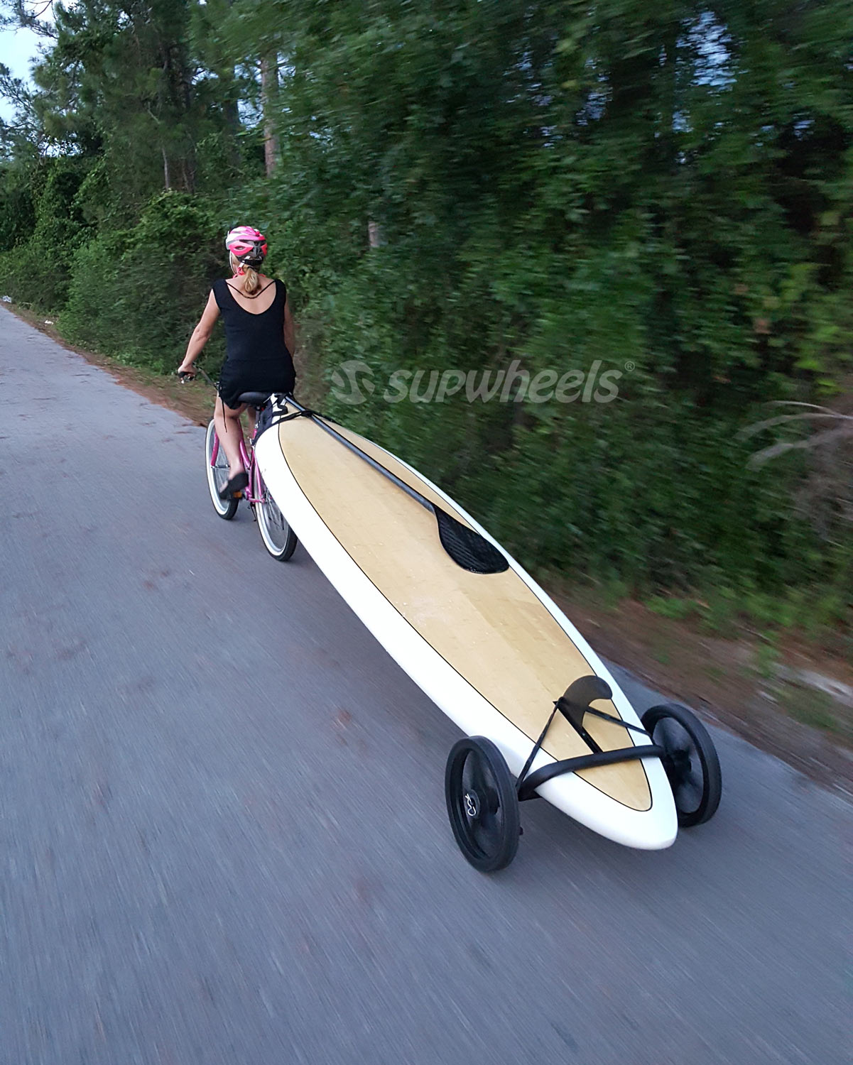 Sup Wheels Evolution Board Bike Trailer
