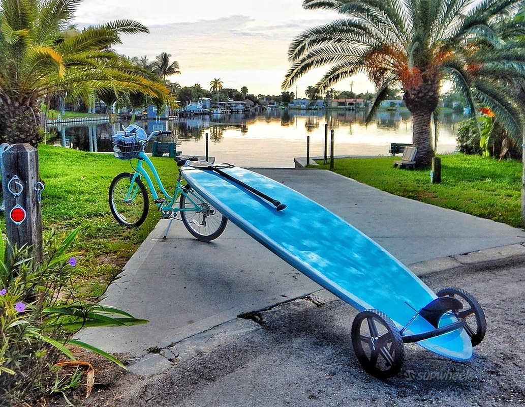 sup carrier for bike